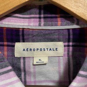 Aeropostale Shirts - Aeropostale Men's XL Flannel Button- Down Shirt